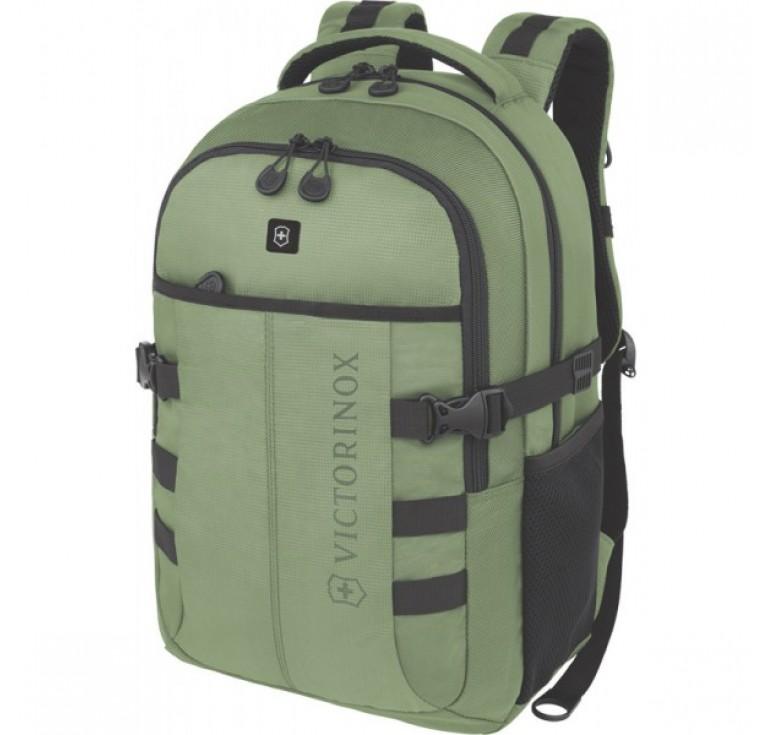 Рюкзак VICTORINOX VX Sport Cadet 16'', зелёный, полиэстер 900D, 33x18x46 см, 20 л
