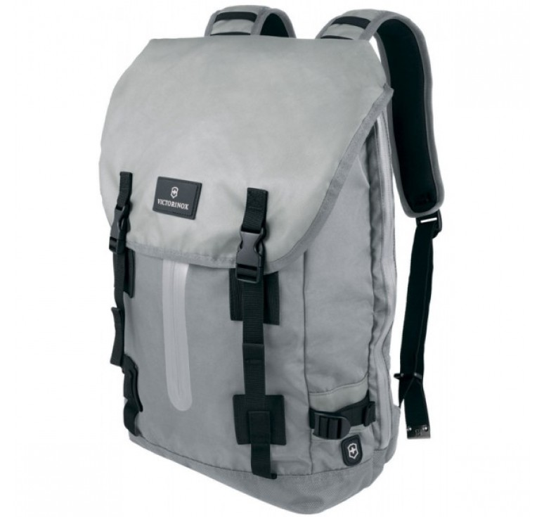 Рюкзак VICTORINOX Altmont™ 3.0, Flapover Laptop Backpack, серый, нейлон Versatek™, 32x13x48 см, 19 л