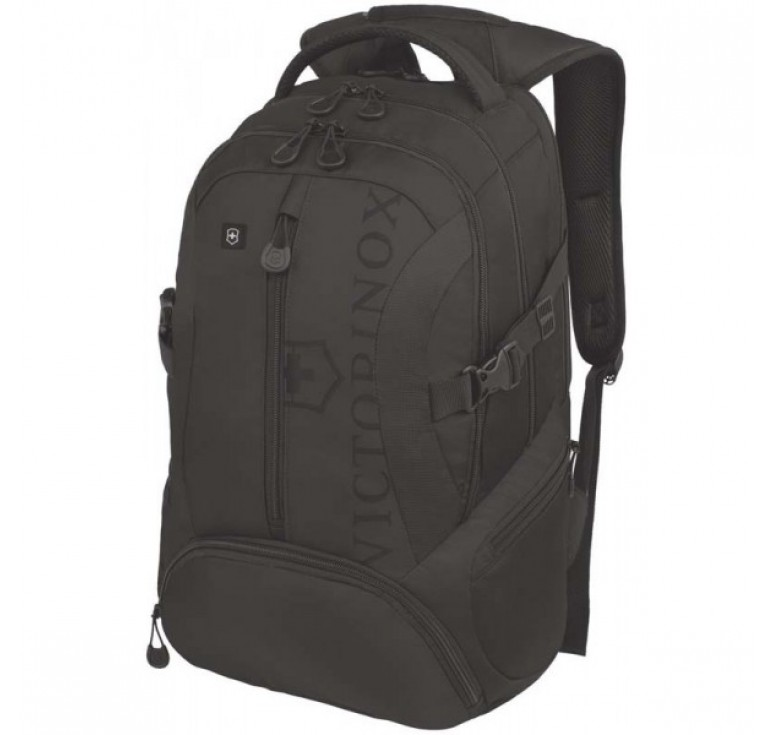 Рюкзак VICTORINOX VX Sport Scout 16'', чёрный, полиэстер 900D, 34x27x46 см, 26 л