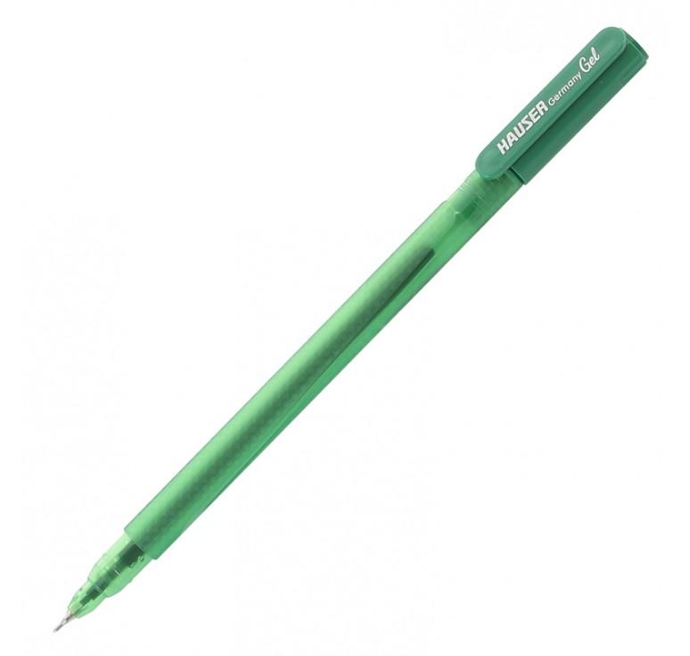 Гелевая ручка Hauser Oxy Gel, пластик, цвет зеленый