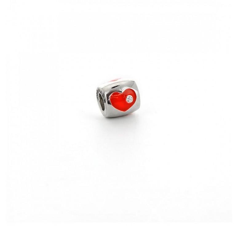 Подвеска-перлина «Сердечко»