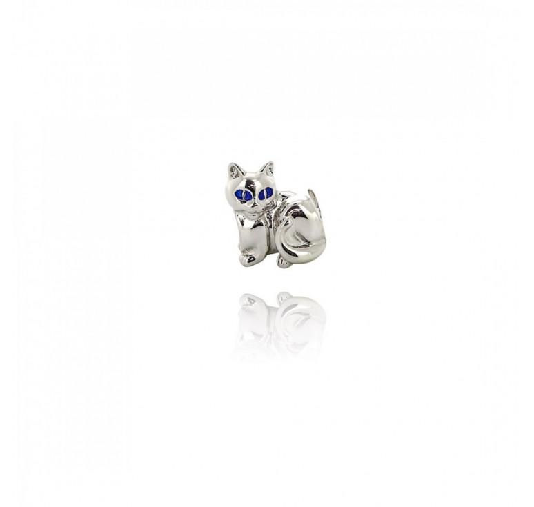 Подвеска-перлина «Лунный кот»