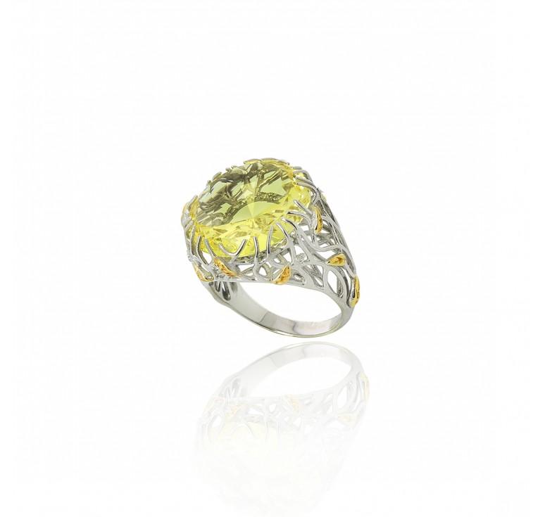 Кольцо «Солнечный блик»
