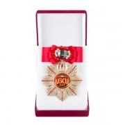 Большой Орден Юбилей 60 (красный бант, брошь)
