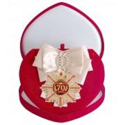 Большой Орден Юбилей 70 (кремовая лента)