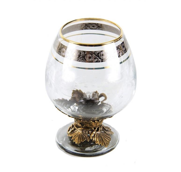 Набор из четырех бокалов для Коньяка Лоза в картонном футляре