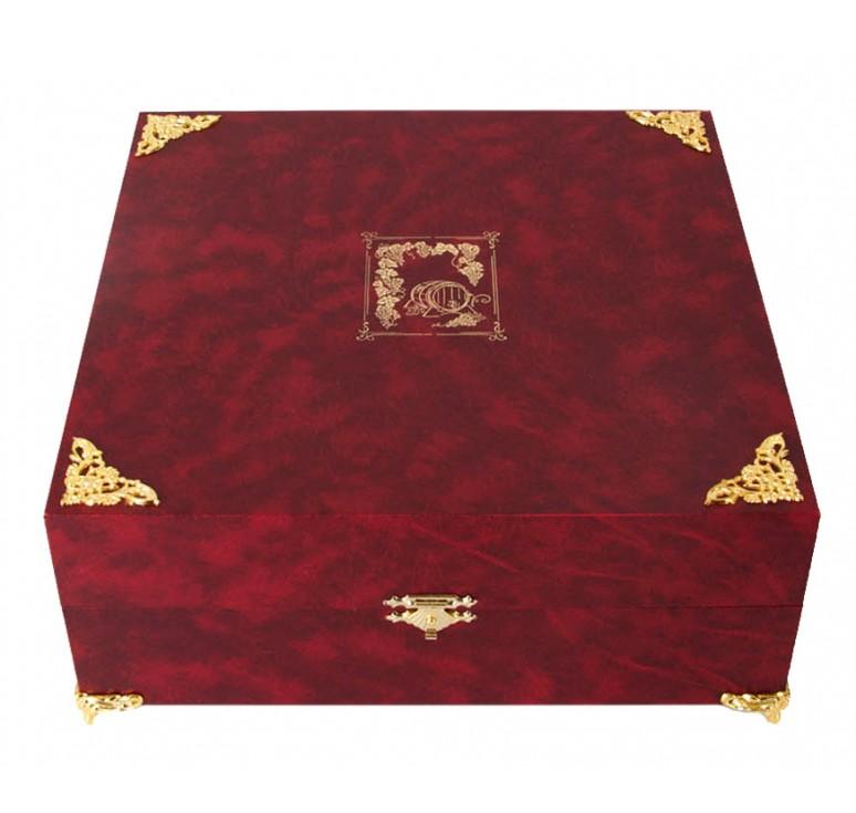 Набор из двух кубков Державный в шкатулке(бумвинил)