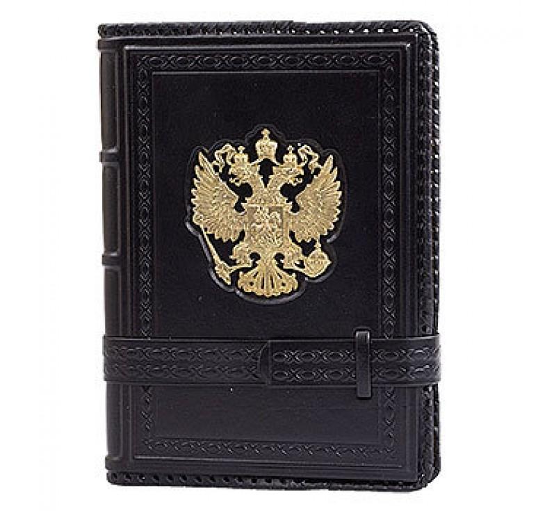 Ежедневник А5 «Россия Златоглавая» чёрный
