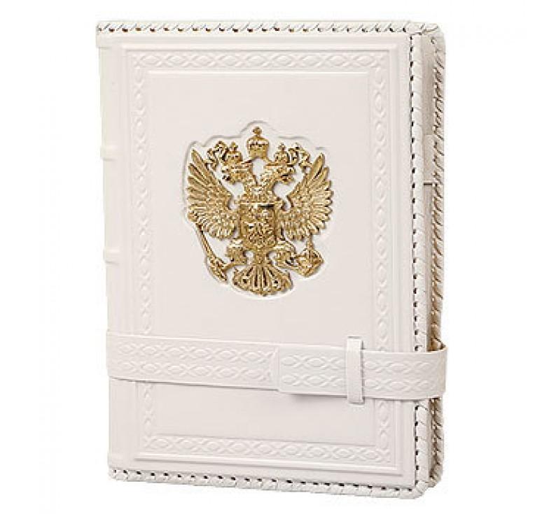 Ежедневник А5 «Россия Златоглавая» белый