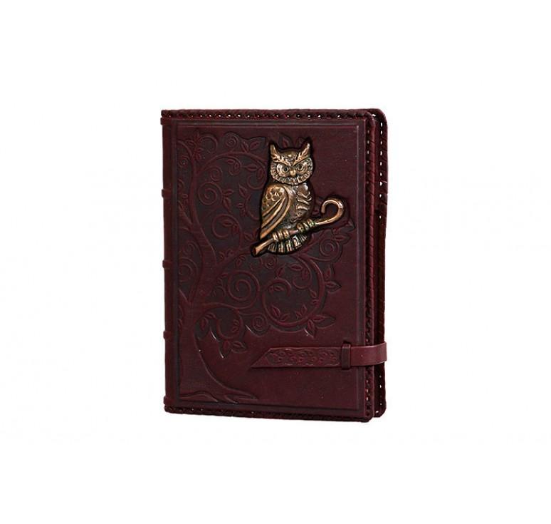 Ежедневник А5 «Мудрость» филин