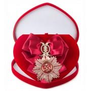 Большой Орден Юбилей 55 (малиновая лента)