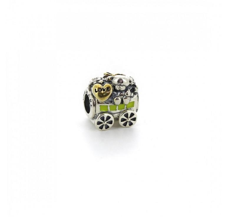 Подвеска-перлина «Вагон с подарками»
