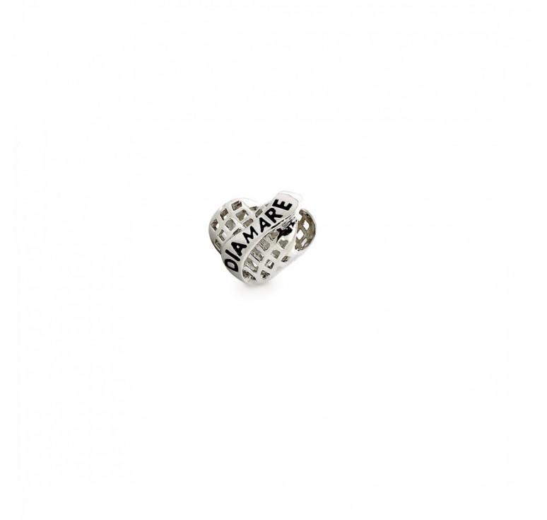 Подвеска-перлина  «Сердце Diamare»