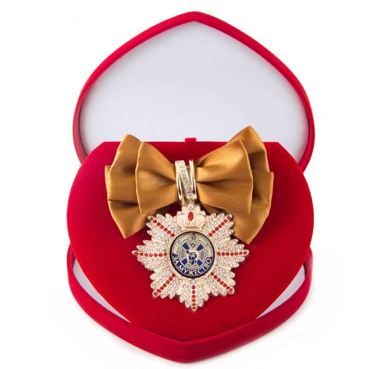 Большой Орден За мужество (бронзовая лента)