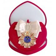 Большой Орден За честность (кремовая лента)