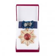 Большой Орден Юбилей 65 (синий бант, брошь)