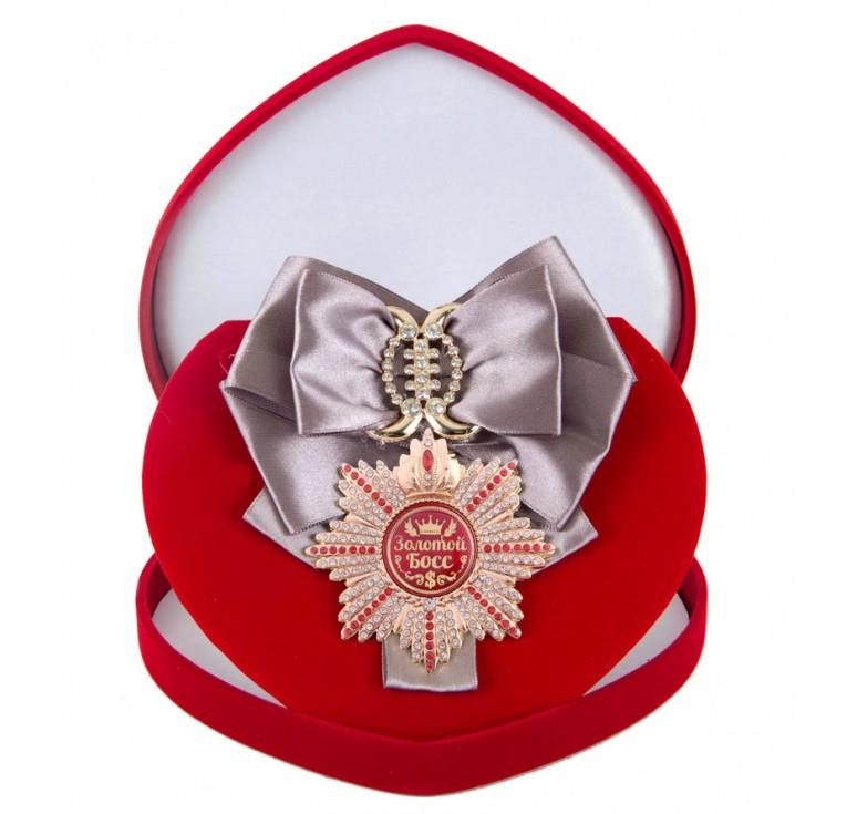 Большой Орден Золотой босс (серебряная лента)