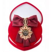 Большой Орден За мужество (бордовая лента)