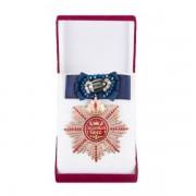 Большой Орден Золотой босс (синий бант, брошь)