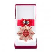 Большой Орден Лучший папа (красный бант, брошь)