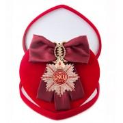 Большой Орден Юбилей 80 (бордовая лента)