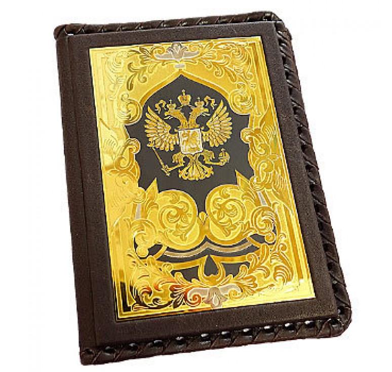Обложка для автодокументов «Герб РФ»