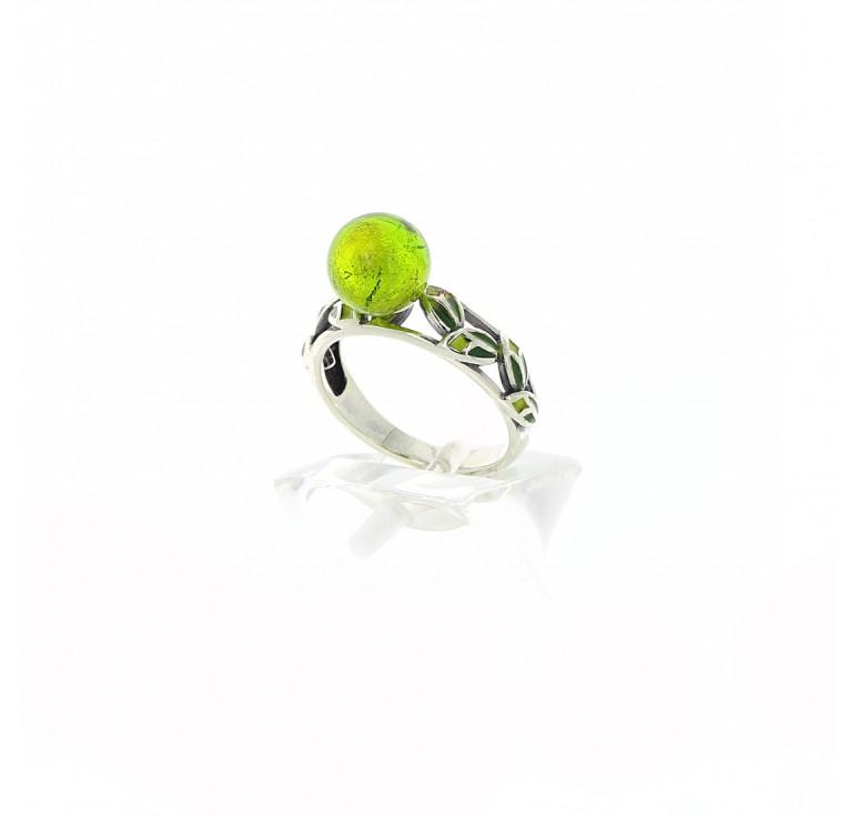 Кольцо «Лесная ветка»