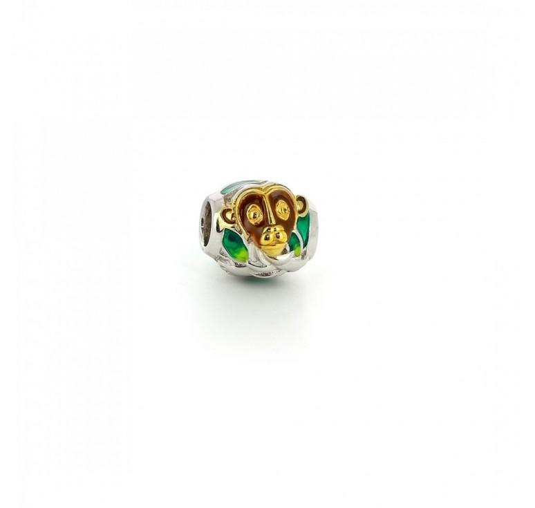 Подвеска-перлина «Золотистая Обезьянка»