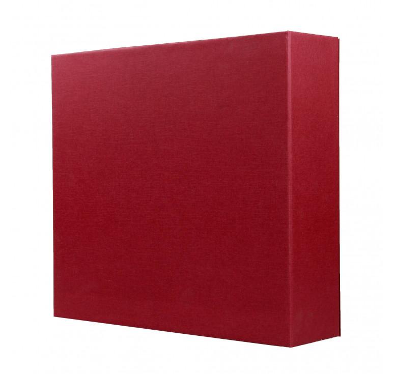 Упаковка подарочная (бордо)