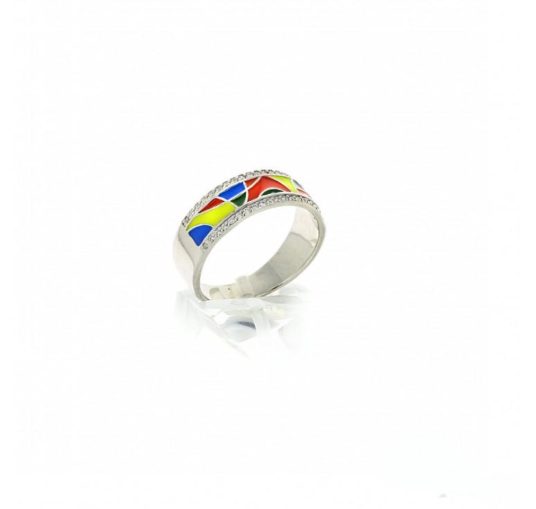 Кольцо «Радужная жизнь»