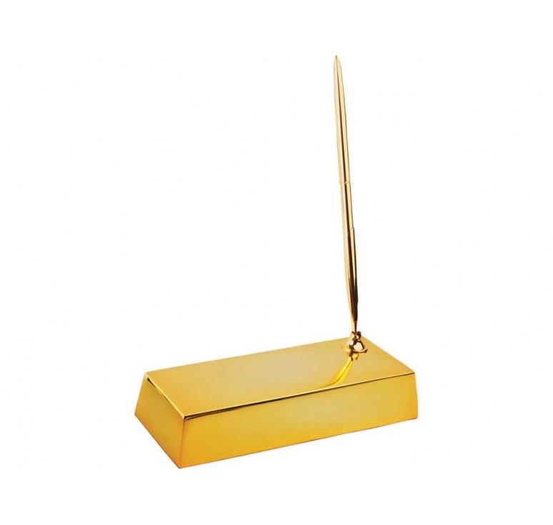 VIP Настольный прибор «Золотой слиток»
