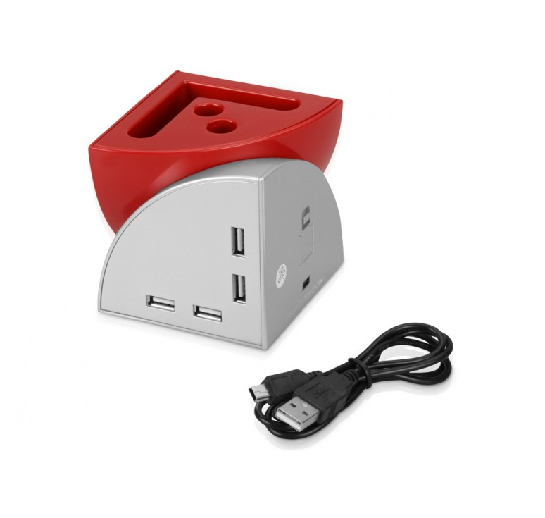"""USB Hub 4 порта """"Куб"""""""