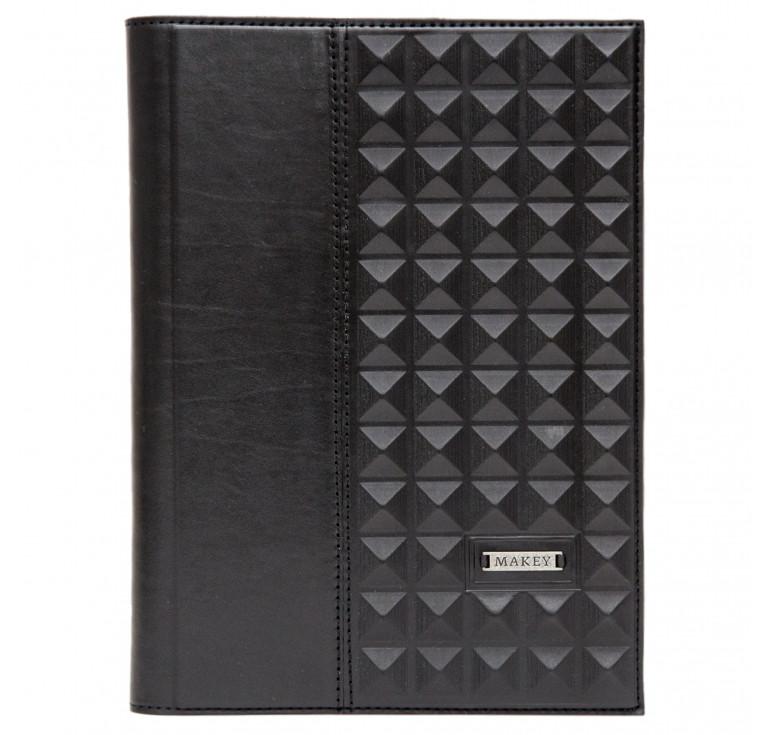 Ежедневник А5 «Геометрия» черный
