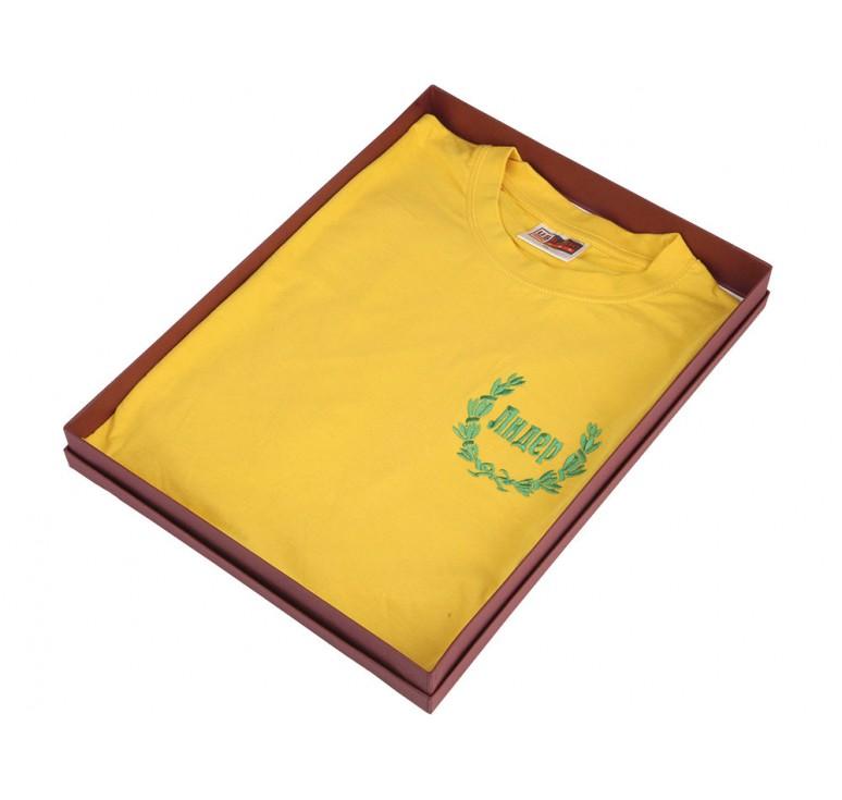 """Подарочный набор """"Желтая майка лидера"""""""
