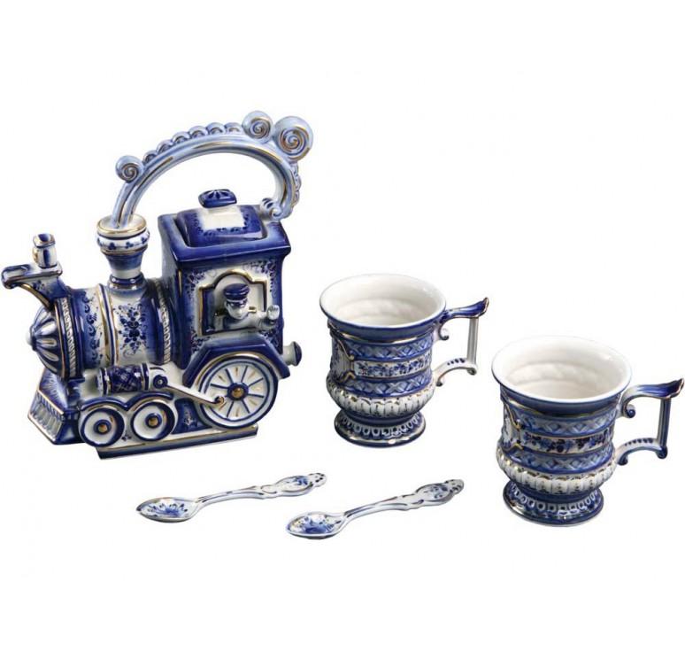 VIP Чайный набор «Поезд»