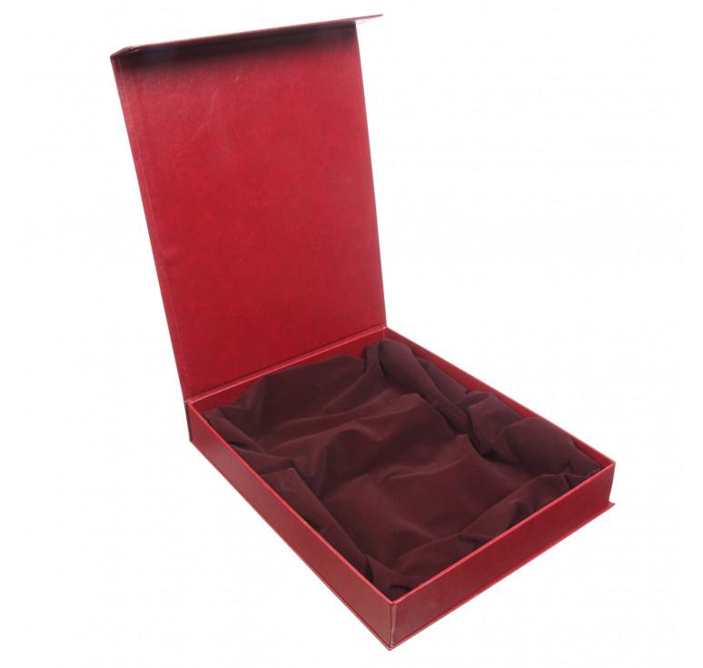 Упаковка подарочная №10 бордо