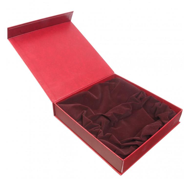 Упаковка подарочная №11 бордо