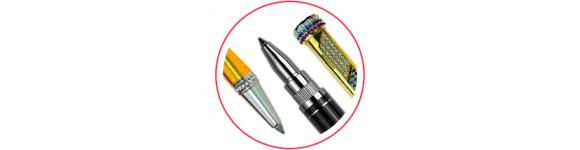 Подарочные ViP ручки из серебра и золота