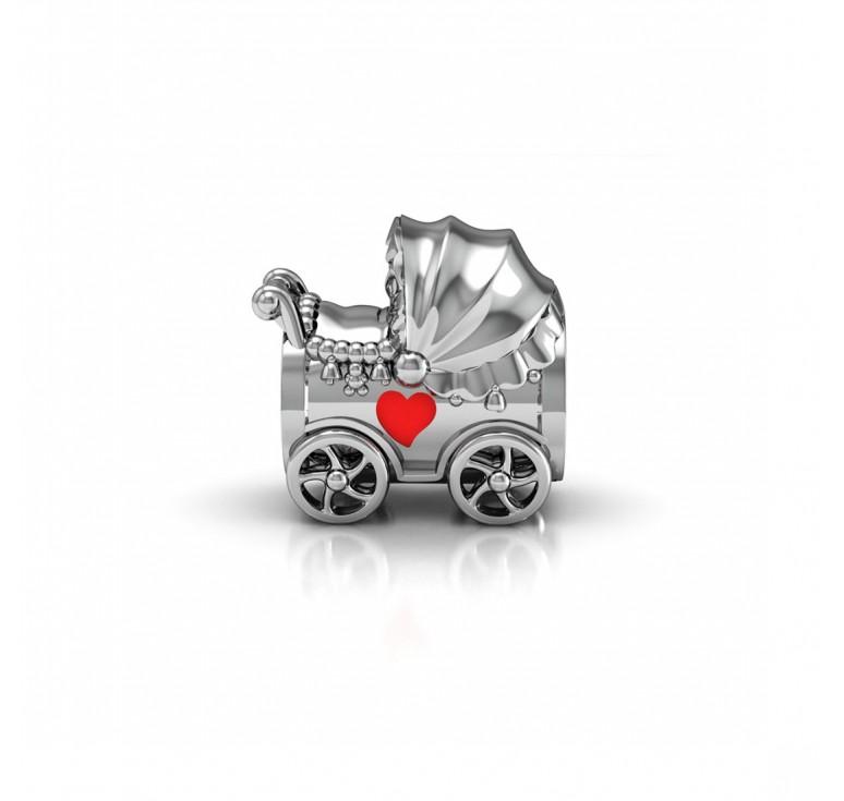 Колясочка с сердечком