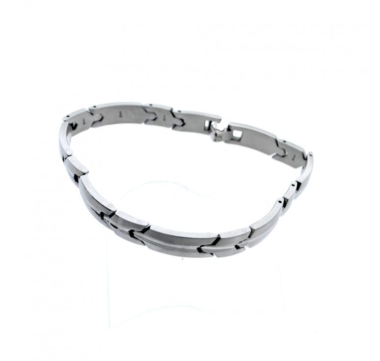 Мужской браслет из ювелирной стали