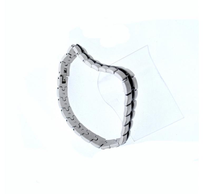 Мужской браслет из ювелирной стали и  PVD напыления