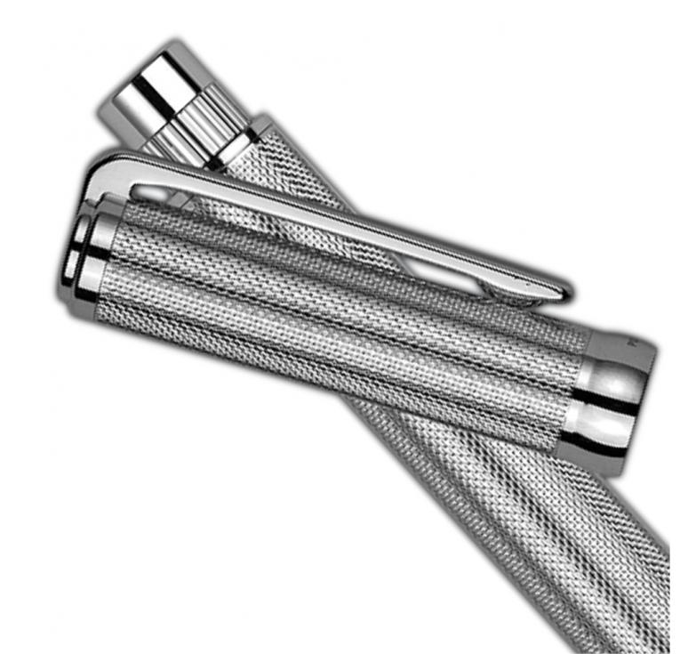 Ручка Nika серебряная подарочная