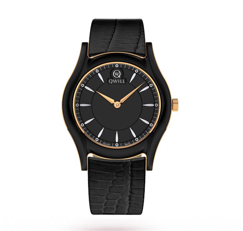 Женcкие часы золото + керамика _ кожа