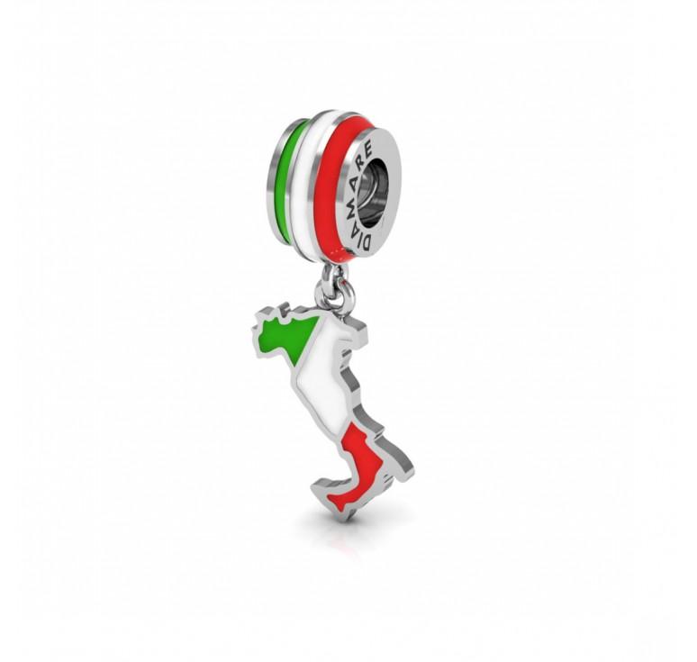 Шарм - подвеска италия из серебра