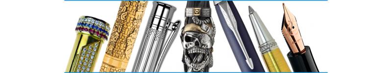 Пишущие инструменты, наборы , элитные ручки, золотые и серебряные