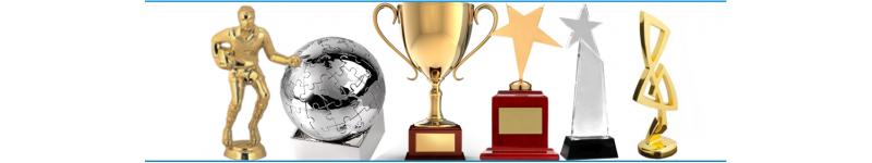 Награда, приз, кубок, стелла, ордена и медали, статуэтки, композиции стеклянные, металлические, деревянные