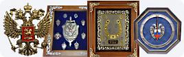 На стену: картины, плакетки, панно, иконы, гербы, эмблемы, ключницы, часы