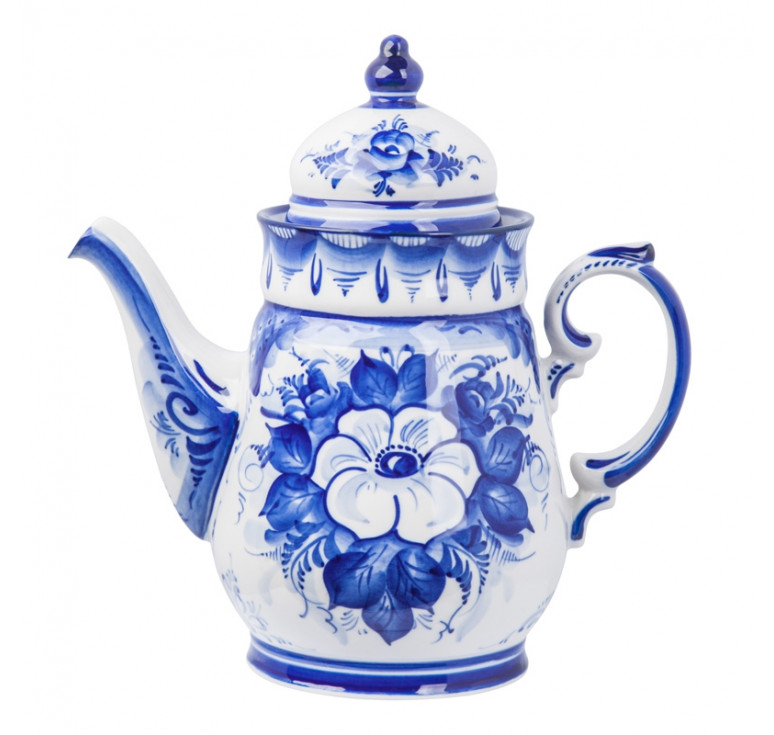 """Сервиз чайно-кофейный Чародейка """"Белый цветок"""""""