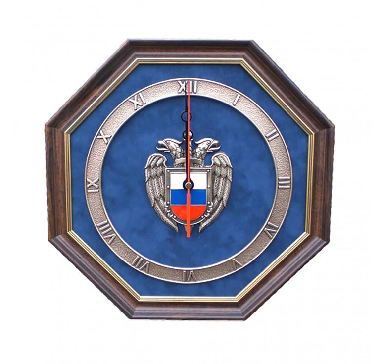 Настенные часы «Эмблема Федеральной службы охраны РФ» (ФСО России)