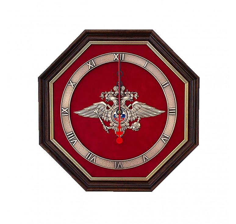 Настенные часы «Эмблема Министерства внутренних дел РФ» (МВД России)